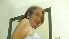 This four eyed granny loves fuck and she gives some head