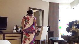 indian wife kajol in hotel full show for husband