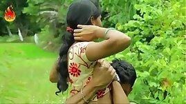Sexy Indian desi girl sucking and fucking romance outdoor sex