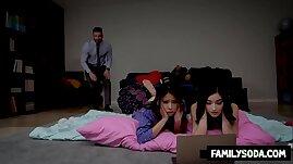 Horny Dad ruins daughters slumber party