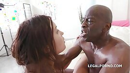 Roxy Dee goes interracial for the Anal Fuck of her life with Big Black mamba Cock