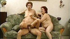 Grandmas Enjoy a Hunk and his cock.